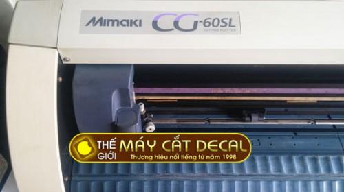 Máy cắt decal Mimaki CG-60SL cũ