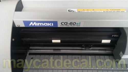 Bán máy cắt decal Mimaki CG-60ST Nhật Bản thanh lý