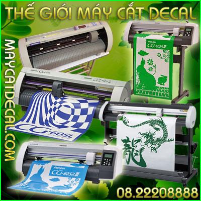 Tại sao nên mua máy cắt decal Mimaki