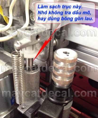 Hướng dẫn sửa lỗi không nhịp dao, dao nhảy, cắt bỏ chữ máy cắt Mimaki CG-60SRIII