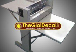 Bán thanh lý máy rọc decal demi, rọc giấy tự động giá rẻ