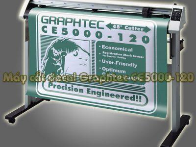 Máy cắt decal Graphtec CE5000-120 khổ 1m2 đã qua sử dụng
