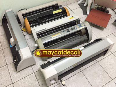 Bán lô máy cắt chữ decal cũ chất lượng tốt, giá tốt tháng 7/2020