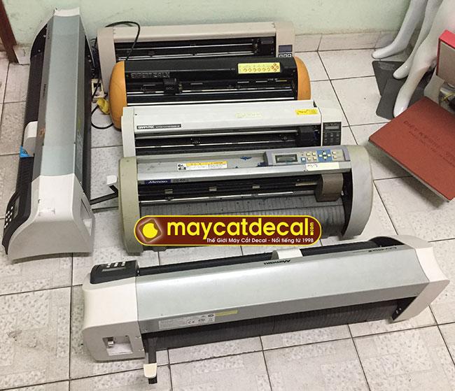 Bán thanh lý lô máy cắt decal cũ giá rẻ