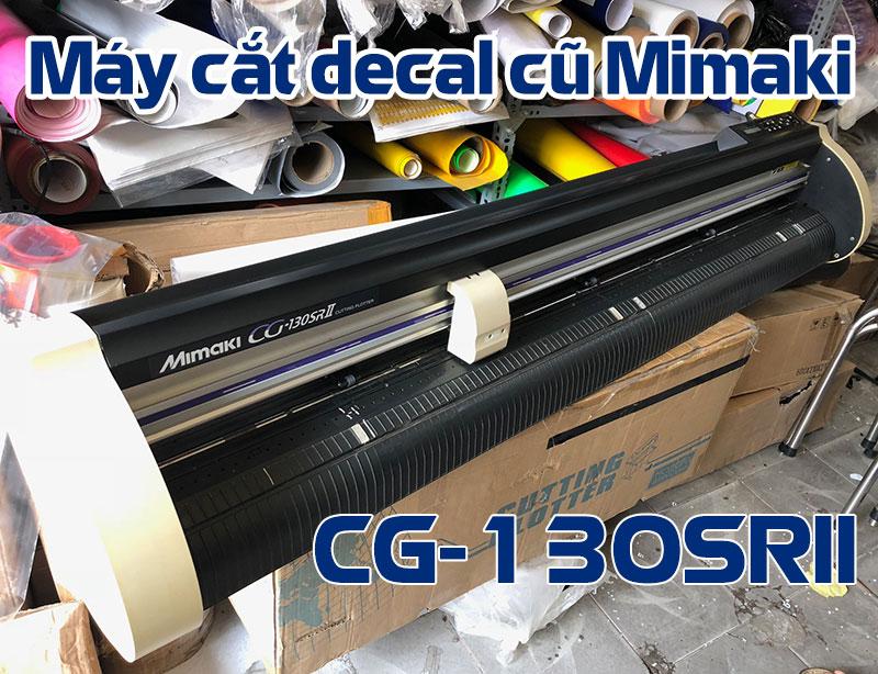 Máy cắt decal cũ Mimaki CG-130SRII